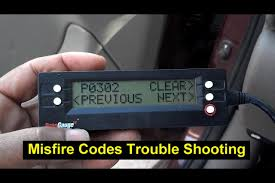 trouble shooting a misfire code p0300 p0301 p0302 p0303 p0304