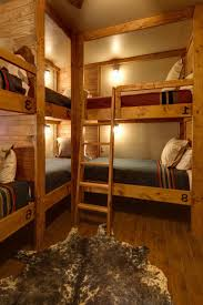 rustic bunk beds this why you should pick this with stairs cedar