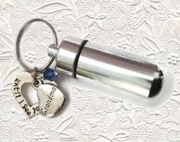 keepsake keychains urn keychain etsy
