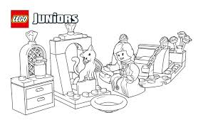 the princess play castle 1 coloring pages lego juniors