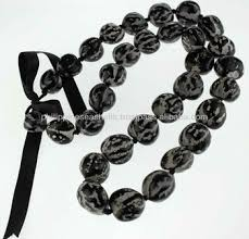 kukui nut black tiger kukui nut leis buy necklaces hawaiian kukui nut