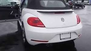 volkswagen beetle white convertible 2014 volkswagen beetle oryx white w black top stock 110027