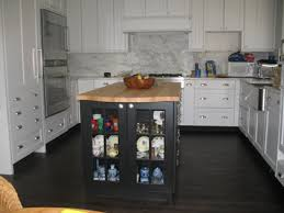 Dark Floor Kitchen by Kitchen White Cabinets Dark Wood Floors Home Decor U0026 Interior