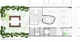 ground floor plan gallery of 144 house apartment ali sodagaran nazanin