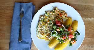 comment cuisiner le hareng omelette au hareng fumé avec des bananes plantains mûres kedny cuisine