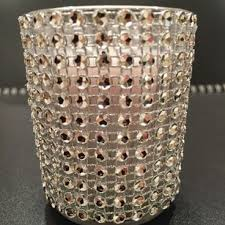 Bling Wrap For Vases Used Votives U0026 Candles Preowned Votives U0026 Candles Tradesy