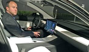 model 3 u0027s sparse interior may be key to hitting cost production