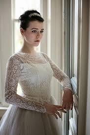 Wedding Dresses With Sleeves Uk Heavenly Vintage Brides Uk Vintage Wedding Blog Vintage Wedding