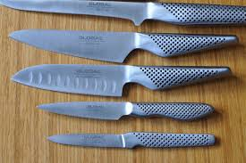 Global Kitchen Knives Secondhand Catering Equipment Chefs Knives Set Of 12 Global