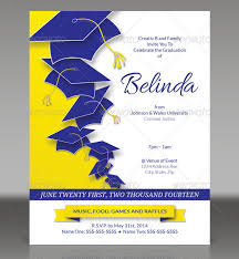 graduation invitation template marialonghi