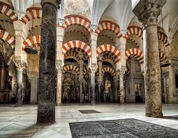 moorish architecture جامع قرطبة الكبيرالذي تحول إلى كاتدرائية الأندلس mezquita