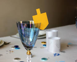 hanukkah clearance hanukkah decorations dreidel place card for wine glass pack
