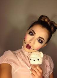 Rag Doll Halloween Costume 20 Scary Doll Makeup Ideas U2014no Signup Required