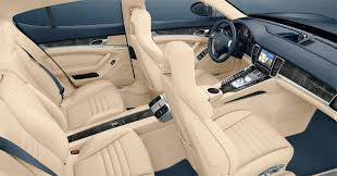 porsche panamera inside porsche reveals interior and u s pricing for panamera sedan