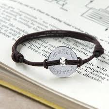 love braid bracelet images Personalised coordinate open disc bracelet by merci maman jpg