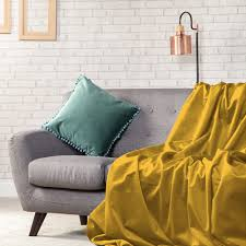 Sofa Protector Plush Velvet Soft Throw Over Sofa Protector Bed Spread Furniture
