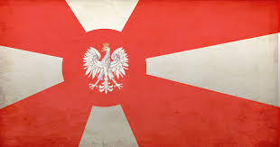 Maroon And White Flag Image Polish Empire Flag Png Politics And War Wiki Fandom