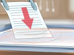 Papier wasserfest machen – wikiHow