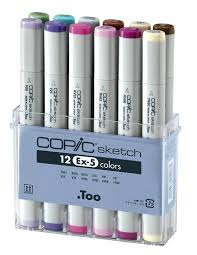 copic set d sketch marker pack of 72 amazon co uk office products