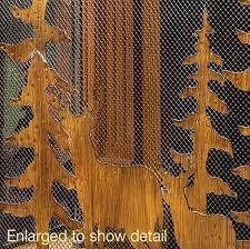 Rustic Wholesale Home Decor Wholesale Rustic Forest Fireplace Screen Super Wholesaler