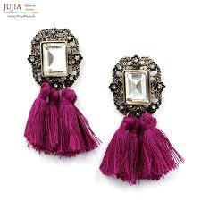 fashion earrings jujia new 2017 fashion jewelry wholesale women vintage
