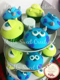 Halloween Cupcakes Cake by Monsters Inc Cupcakes Yaffa Sweet Creations Yaffa Sweet