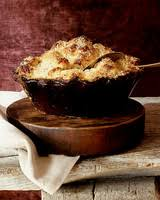 cauliflower gratin with endive meatless thanksgiving dish