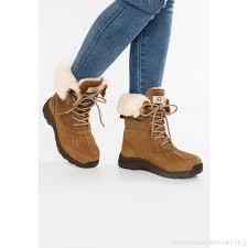 ugg s adirondack boot ii chestnut ugg adirondack iii laceup boots chestnut e2vy4871i