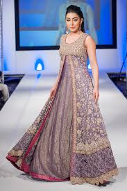 fancy maxi dresses pakistani collection for wedding