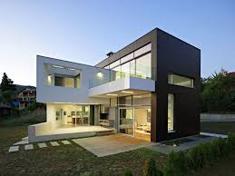 modern house roof this wood clad and sloped roof modern house