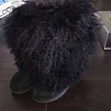 ugg boots on sale size 5 48 ugg shoes high top black mongolian fur ugg boots size 5