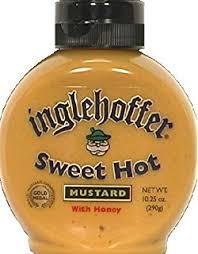 inglehoffer sweet hot mustard inglehoffer sweet hot mustard 10 25 ounce squeezable