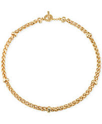 golden rope necklace images Gold rope chain shop gold rope chain macy 39 s tif