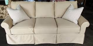 Best Sofa Slipcovers by Furniture Modern Love Seat Sofa With Cream Fabric Slip Cover With