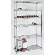 Storage Shelving Ideas Popular Chrome Shelving Home Decorations Ideas For Chrome Shelving