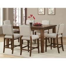 bar height dining room table sets round bar height dining table home decorating ideas