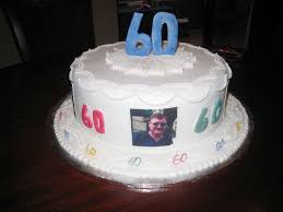simple white 60th birthday cake birthday cake cake ideas by