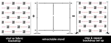 custom photo backdrop step and repeat vinyl fabric backdrops and stands custom