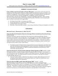 pmp certification resume sample resume examples project manager project manager resume sample