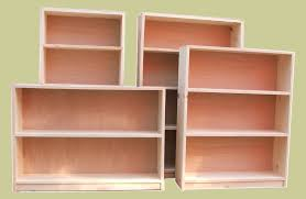 White 2 Shelf Bookcase by Unfinished Bookcases Bookcases Baking