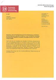 architektur studiengã nge 2 nach 18 abs 1 apo wird dem zeugnis ein diploma supplement