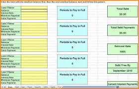debt spreadsheet template eliolera com