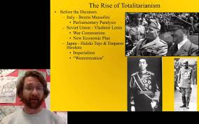 rise and characteristics of totalitarianism youtube