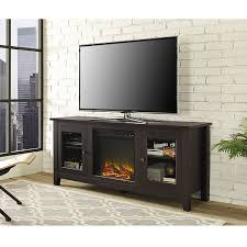 Tv Stand With Fireplace Amazon Com We Furniture 58
