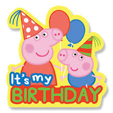 peppa pig birthday peppa pig birthday badge partyware essentials party ark