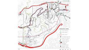 Portland Bus Map by Washington Park Master Plan Update Place Studio Llc