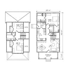 asbury ii bungalow floor plan tightlines designs