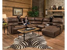 Reclining Sectional Sofa Franklin Empire Reclining Sectional Sofa With Left Side Chaise