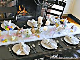 Easter Table Decorations For Dinner by Easter Brunch Table Ideas