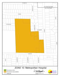 Grand Rapids Zip Code Map by Renaissance Zones Map